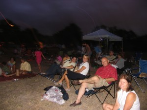 photo of movie in the park
